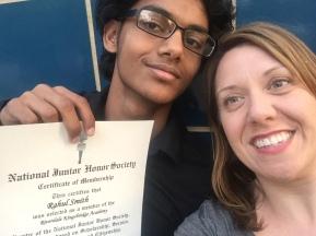 9th Grade Honor Society Induction